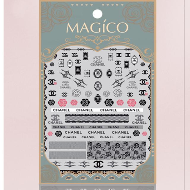 MAGICO極薄美甲貼紙-#34(10張免運費)