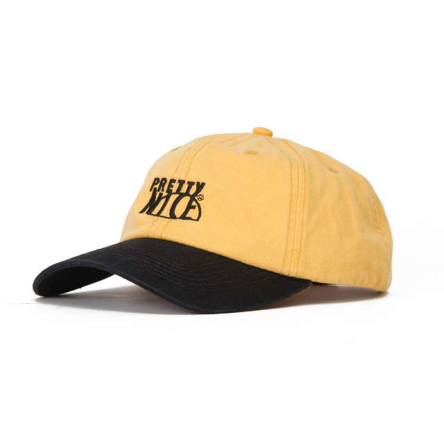 PRETTYNICE / Outline Logo Dads Cap