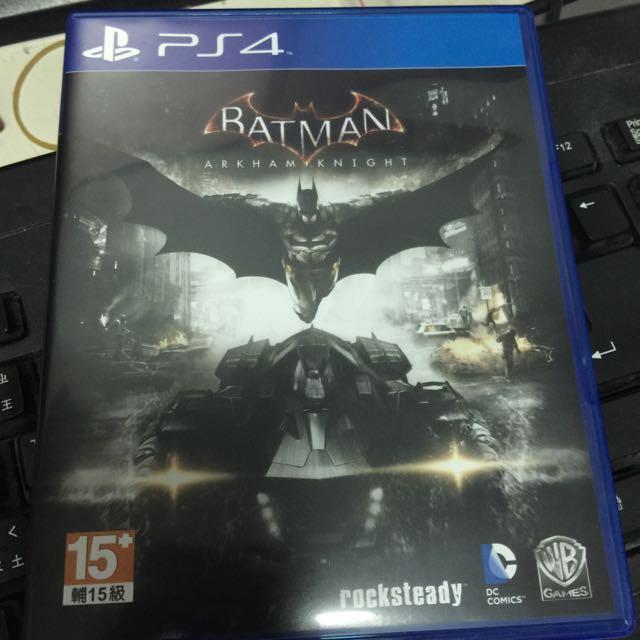 PS4 蝙蝠俠 阿卡漢騎士 亞版 英文版
