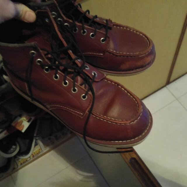 new concept c89e1 d827f Red Wing (Replica), Men's Fashion on Carousell