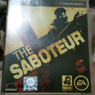 (Price Reduced To Clear)Preloved PS3 Game - The Saboteur