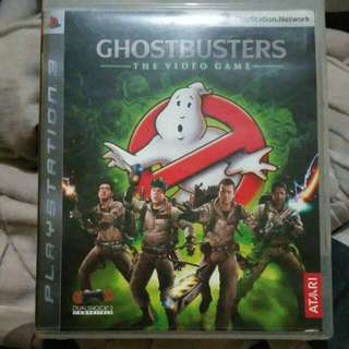 Preloved PS3 Game - Ghostbusters