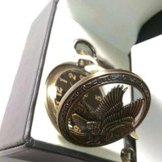 復古老鷹懷錶