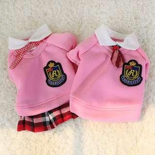 <預購>學院情侶裝 寵物學生服