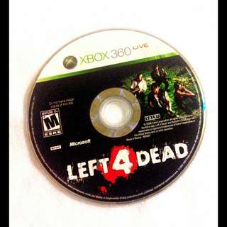 Xbox 360. Left For Dead Game