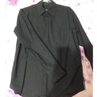 [近全新]酷黑商務襯衫