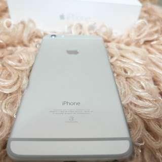 iPhone6 + Plus 64G 銀 無傷9成新 未過保固(可小議價)