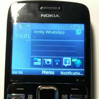 Refurbished Nokia C3-00 Black