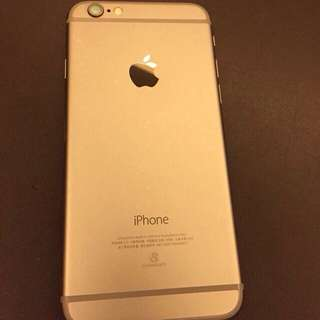 iPhone 6 16g太空灰