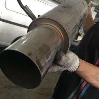Exhaust Pipe For GD Jazz Or Fit