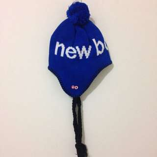 New Balance 毛帽/寶藍