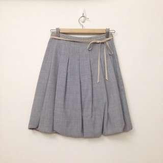 【二手】日雜品牌 NANASHI 毛料裙