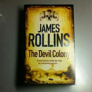 (Brand NEW) James Rollins THE DEVIL COLONY