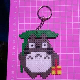 龍貓拼豆鑰匙圈/吊飾