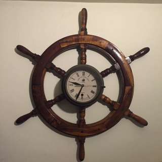 Antique Ship Clock