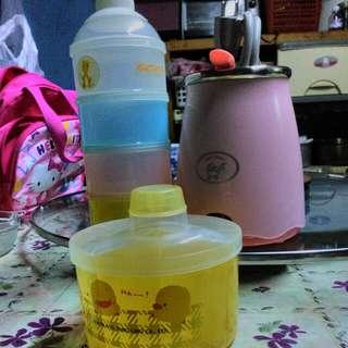溫奶器,奶粉分裝盒