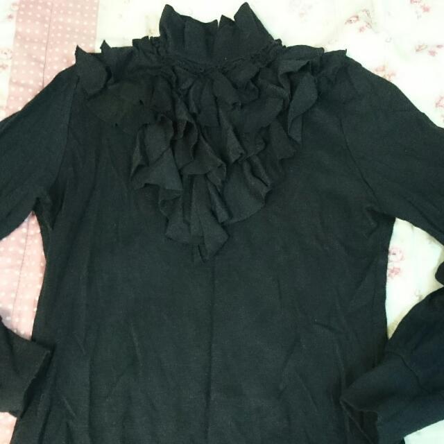 黑色宮廷上衣