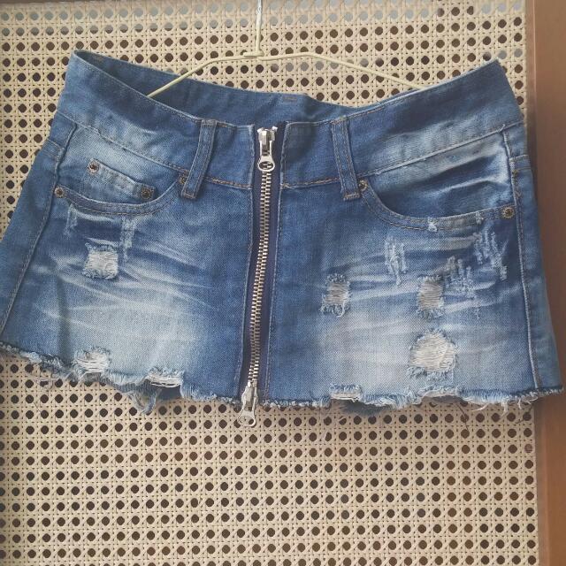 假短裙短褲