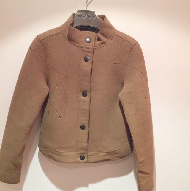 法國進口品牌駝色外套
