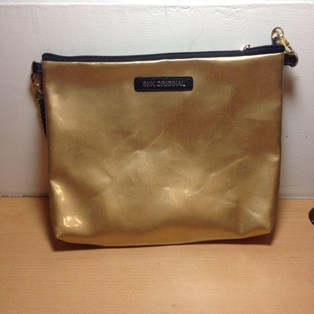 泰國 BKK ORIGINAL 全新 金色 側背包