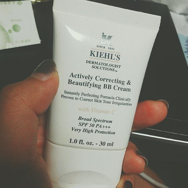 免運+送面膜 kiehl's 契爾氏 BB cream