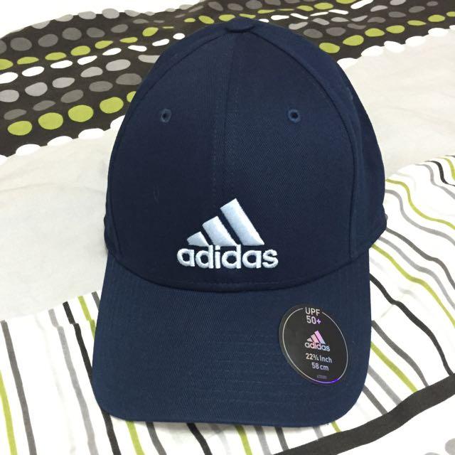 Adidas 復古帽 藍