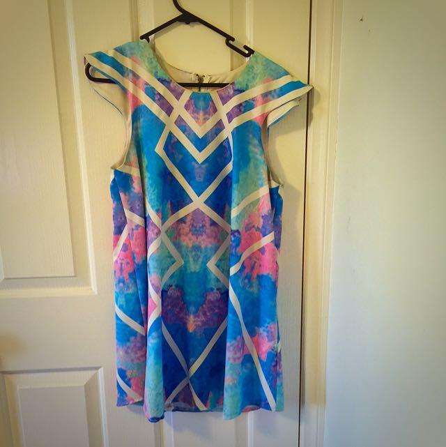 Colourful Short Dress