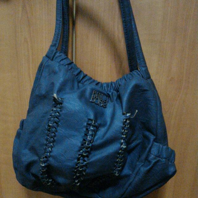 Dark blue Billabong casual carry-bag