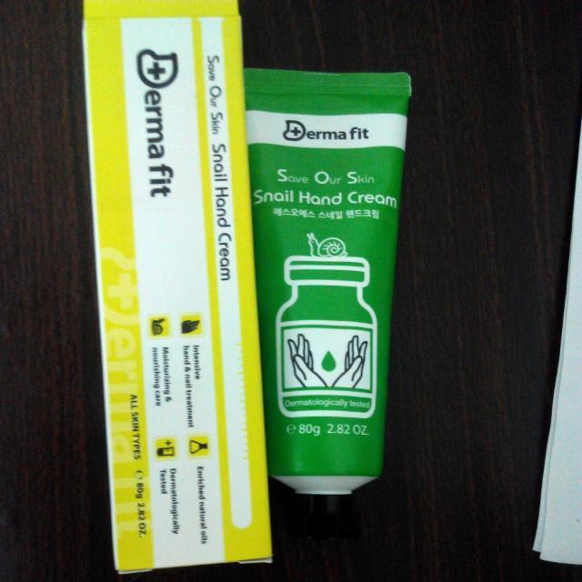 (降價含運)Derma Fit Snail Hand Cream 蝸牛護手霜