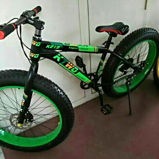 Fat Bike (used twice only)