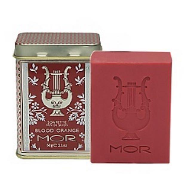 MOR 古典小奢華潤膚皂(義大利紅橙)