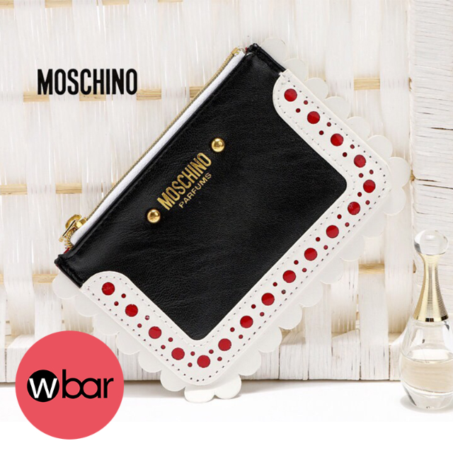 Moschino零錢包卡片包