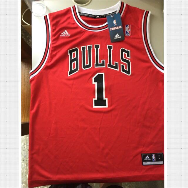 NBA Rose  球衣 全新