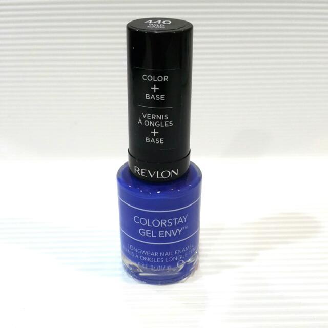 REVLON露華濃 超持色鑽石光藍色指甲油