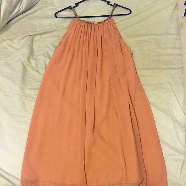 Salmon Coloured Dress