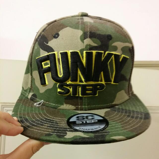 step funky 迷彩 棒球 帽