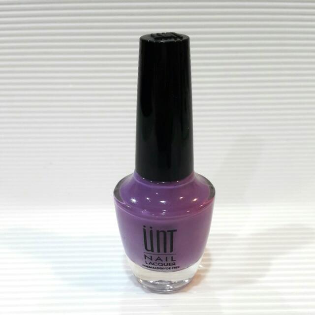 Unt 紫色 指甲油