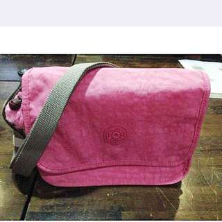 Brand New Kipling Pink Original Sling Bag