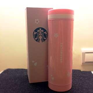 (保留)全新 星巴克  限定櫻花杯 不鏽鋼 Starbucks 保溫杯 環保杯 粉紅