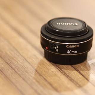 WTS Canon lens 40mm f/2.8