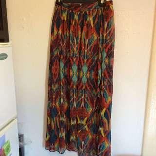 Colourful Maxi Skirt