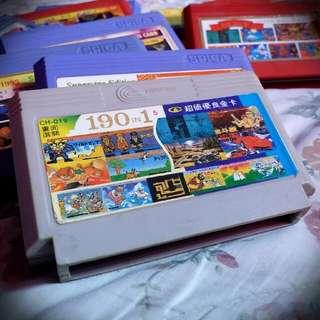 190 In 1 Vintage Game Cartridge