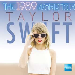 Taylor Swift Tickets X 2 -Concert In Singapore