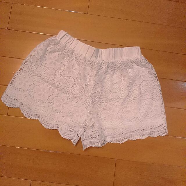 ◆ 蕾絲短褲