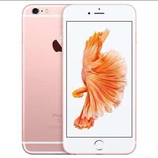 iPhone 6s玫瑰金4.7吋。64G (全新未拆封)