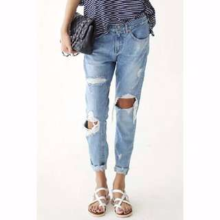 *NEW* RIPPED JEANS