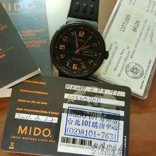 Mido經典賽車錶