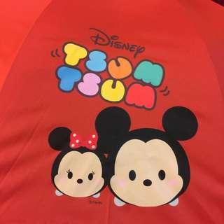 限量Disney TSUM TSUM直傘 雨傘 陽傘 直立傘 雨具