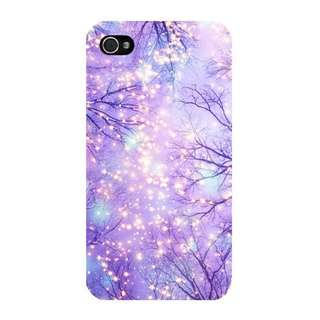 Lit Up Trees Phone Case