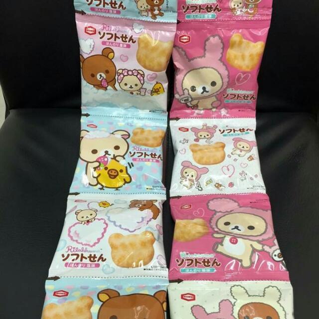 拉拉熊4連米菓